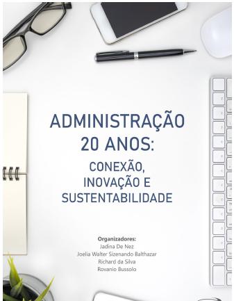 Ebook comemorativo dos 20 anos do curso de Administração do Unibave